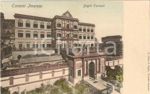 1906 TERMINI IMERESE (PA) Bagni termali *Cartolina FP VG