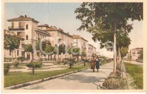 1932 CUNEO Donne passeggiano in Corso Dante *Cartolina FP VG