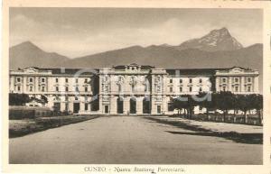 1932 CUNEO Nuova stazione ferroviaria *Cartolina FP VG