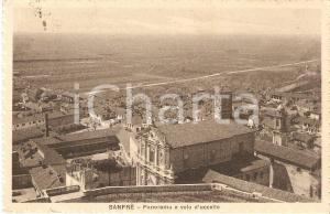 1927 SANFRE' (CN) Panorama a volo d'uccello *Cartolina FP VG