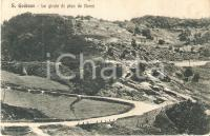1937 SAN GODENZO (FI) Le girate di PIAN DE BOCCI *Cartolina FP VG