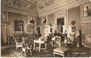 1943 ERBA (CO) Sala Impero a Villa AMALIA Fratelli Scuole Cristiane Cartolina FP