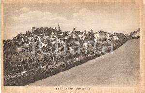 1940 ca CARPENETO (AL) Veduta panoramica *Cartolina postale FP NV