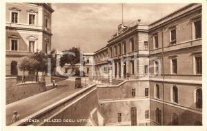 1935 ca POTENZA Carretto davanti al Palazzo degli Uffici *Cartolina FP NV