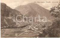 1925 ca VINADIO (CN) Panorama della VALLE STURA *Cartolina FP NV