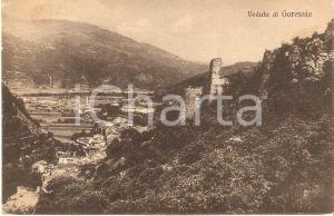 1925 ca GARESSIO (CN) Panorama del paese *Cartolina FP NV