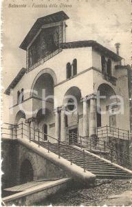 1918 VALPERGA (TO) Facciata del Santuario di BELMONTE *Cartolina FP VG