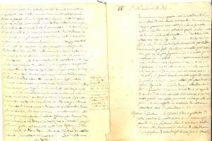 1840 ca CONVERSANO Mons. Antonio DALENA - Sermoni sull'abbandono di Dio 12 pp.