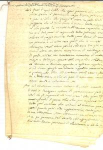 1840 ca CONVERSANO Mons. Antonio DALENA - Sermone sulla felicità 12 pp.