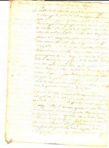 1843 CONVERSANO (?) Omelia per il concepimento di Maria *Manoscritto 10 pp.