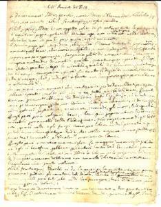 1840 ca AREA BARESE Omelia sull'amore di Dio *Manoscritto