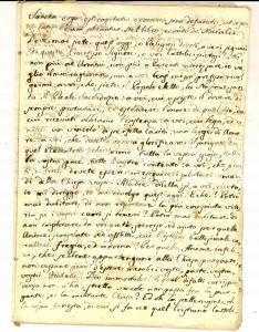 1840 ca AREA BARESE Ottavario dei Morti - Dovere di religione *Manoscritto