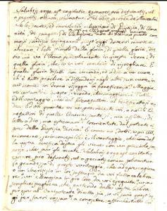 1840 ca AREA BARESE Ottavario dei Morti - Pena del senso *Manoscritto