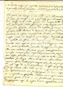 1840 ca AREA BARESE Ottavario dei Morti - Dovere di sangue *Manoscritto