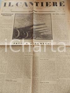 1934 IL CANTIERE Corporazioni e datori di lavoro *Giornale Anno I n° 14