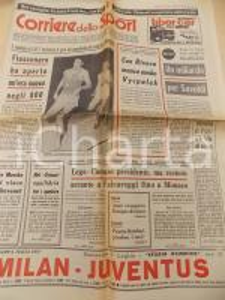1973 CORRIERE DELLO SPORT ATLETICA Record Marcello FIASCONARO 800 m *Giornale