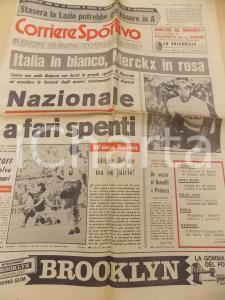 1969 CORRIERE DELLO SPORT CICLISMO Eddy MERCKX in maglia rosa *Giornale