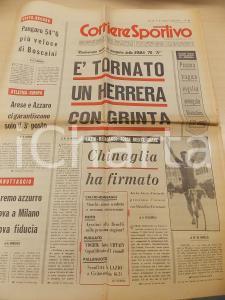 1970 CORRIERE DELLO SPORT CICLISMO Tragica morte di Gianfranco BIANCHIN Giornale