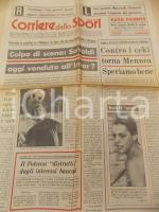 1973 CORRIERE DELLO SPORT Ritorno di Pietro MENNEA - Record Novella CALLIGARIS