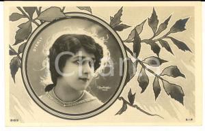 1920 ca TEATRO Ritratto dell'attrice Mlle STERLY *Cartolina VINTAGE REUTLINGER