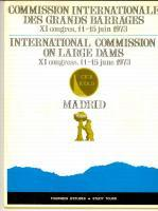 1973 MADRID International Commission Large Dams - Study tours 38 pp. ILLUSTRATED