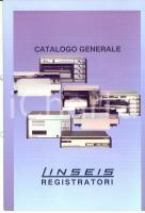1980 ca SELB (D) Registratori LINSEIS *Catalogo generale ILLUSTRATO 16 pp.