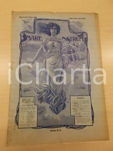 1906 MARE NOSTRUM Gara tra marinai R. N. VARESE - Expo Milano *Anno II n°10