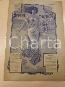 1906 MARE NOSTRUM Regia Marina all'Esposizione di Milano *Anno II n°7