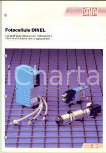1980 ca CORSICO (MI) Ditta SAIA Elettronica - Fotocellule DINEL *Catalogo 36 pp.