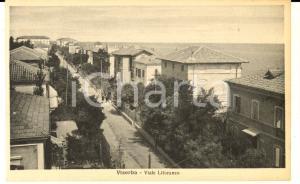 1930 ca VISERBA (RN) Veduta del viale LITORANEO *Cartolina postale FP NV