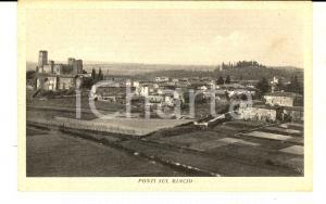 1930 ca PONTI SUL MINCIO (MN) Veduta panoramica *Cartolina postale FP NV