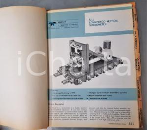 1968 GARLAND (TEXAS) GEOTECH Teledyne Company -- Instrumentation catalog 100 pp.