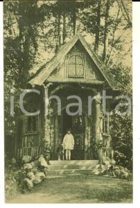 1915 ca GARBAGNATE ROTA / BOSISIO PARINI Villa Carla *Cartolina ANIMATA bambina