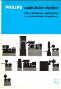 1969 PHILIPS Apparecchiature criogeniche per la ricerca di laboratorio *Catalogo
