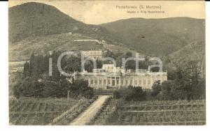 1909 PORTOFERRAIO Museo e Villa Napoleonica *Cartolina a Lodovica BORROMEO