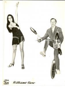 1970 ca PRAHA (CZ) The WILLIAMS SHOW - CIRCO *Fotografia VINTAGE 18x24 cm