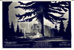 1943 MILANO Teatro alla SCALA Sigfrido - Atto III *Foto seriale CRIMELLA