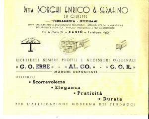 1948 CANTU' Ditta BORGHI Enrico & Serafino Ferramenta - Listino ILLUSTRATO