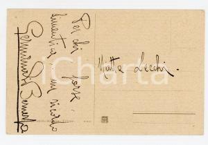 1920 ca TRIESTE Riva Nazario SAURO *Cartolina Germano ASINARI DI BERNEZZO FP VG