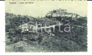 1914 CIVIDALE (UD) Veduta CASTEL DEL MONTE *Cartolina postale FP VG