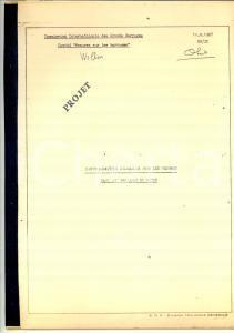 1967 COMITE' FRANCAIS GRANDS BARRAGES Mesures dans les barrages en béton 22 pp.
