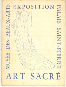 1954 LYON Musée des Beaux-Arts -  Exposition ART SACRE' *Catalogue 24 pp.