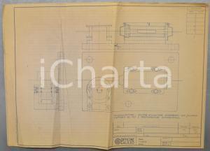 1970 ca OFFICINE GALILEO Telemisuratore con puleggia e trasformatore *Schema