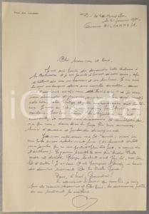 1981 BRUXELLES Prof. Emile LOUSSE chiede collaborazione a un collega *AUTOGRAFO
