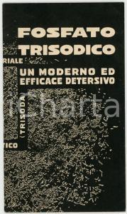 1934 MILANO Società MONTECATINI Fosfato trisodico detersivo *Libretto 10 pp.