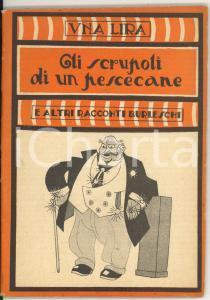 1925 ca Gli scrupoli di un pescecane *Collana UNA LIRA - Ed. MODERNISSIMA
