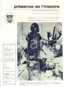 1981 PRESENCE DE L'HISTOIRE Peuples de l'Arctique *Année X n° 55