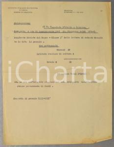 1935 CRACOVIA Istituto Italiano di Cultura - Ore prof. Francesco MELZI D'ERIL
