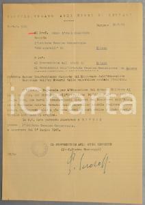 1945 Provveditorato di BERGAMO Revoca trasferimenti docenti disposti dall'ex RSI