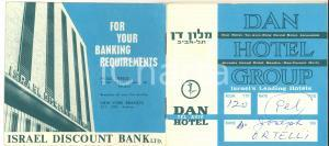 1970 ca ISRAEL DAN HOTEL Group - DAN-CARMEL *Libretto ILLUSTRATO 24 pp.